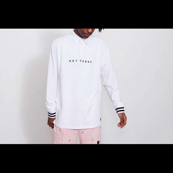 NWT Lazy Oaf long sleeve rugby- 1 day sale!